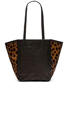 Cleobella Mischa Tote Bag in Leopard