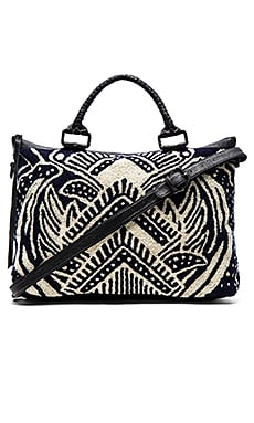 Cleobella Scarla Weekender in Tribal Print Navy