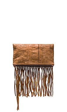 Lagoon Clutch in Tan
