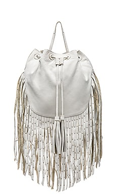 Cleobella Aster Backpack in White