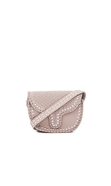 Phoebe Small Crossbody Bag in Ivory