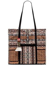 Cleobella Far Away Tote Bag in Cayenne