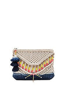 Dreamers Clutch in Macrame