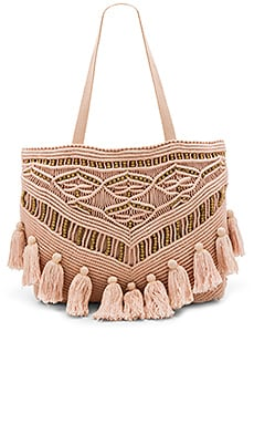 Swoon Tote Bag in Blush