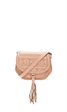 Goldie Saddle Bag in Blush