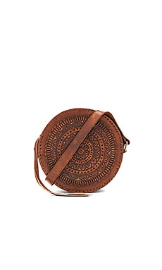 Paxton Circle Bag in Tan