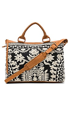 Madagascar Weekend Bag Cleobella $398