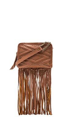 Cleobella Nadia Fringe Bag in Cognac