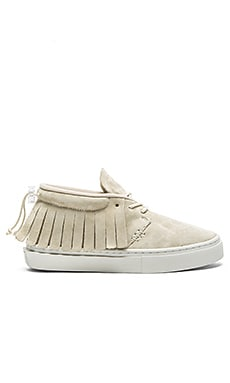 Clear Weather One O One in Cream Suede