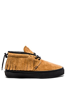 Clear Weather One O One in Honey Pig Suede Black