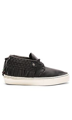 Clear Weather The One O One Leon Leather in Black