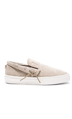 Clear Weather The Lakota in Goat Pig Suede