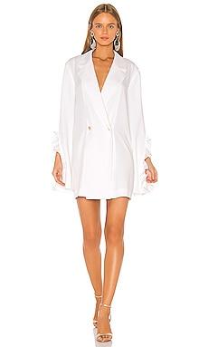 Ruffle Blazer Dress Caroline Constas $322