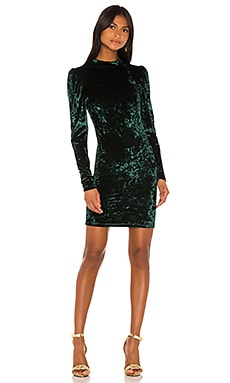 Lulu Velvet Mini Dress Caroline Constas $395