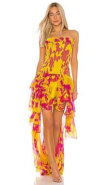 Lola Smocked Dress Caroline Constas $597