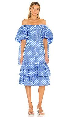 Nella Midi Dress Caroline Constas $695
