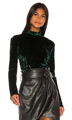 Delphine Velvet Turtleneck Caroline Constas $63 (FINAL SALE)
