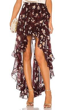 Adelle Ruffle Skirt Caroline Constas $560