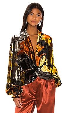 Bette Blouse Caroline Constas $420 BEST SELLER