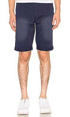 CLOT Washed Chino Shorts in Navy