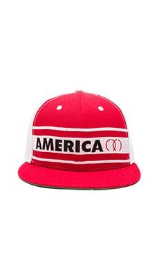 CLOT x REVOLVE America Cap in White