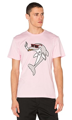 Smoking Dolphin Tee