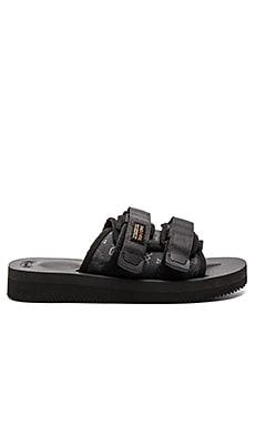 CLOT x Suicoke Moto Sandal in Black