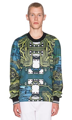 Clover Canyon Wired Acres Sweatshirt in Multi
