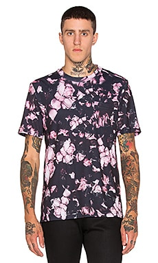 Clover Canyon Night Blooms Tee in Wine