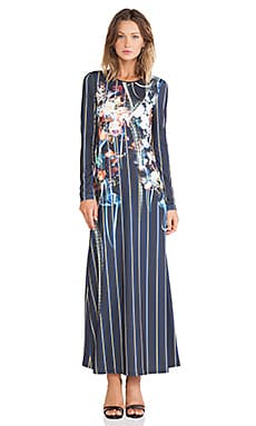 Clover Canyon George Bernard Shaw Jersey Dress in Multi