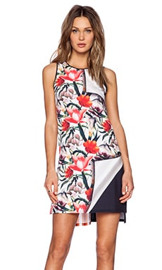 Clover Canyon Turning Flower Mini Dress in Multi