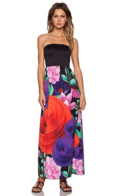 Clover Canyon Lotus Garden Maxi Dress in Multi