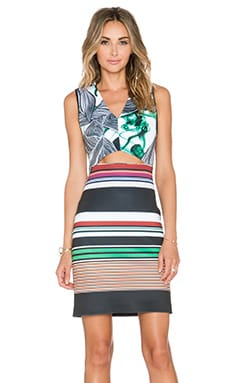 Clover Canyon Jade Storm Dress in Multi