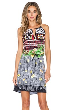 Clover Canyon Floral Breeze Dress in Multi