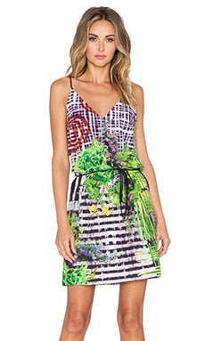 Clover Canyon Lattice Garden Dress in Multi