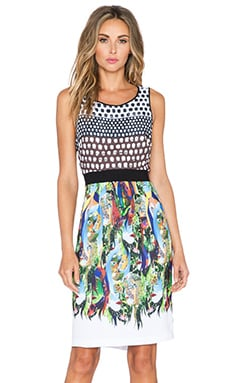 Clover Canyon Flourishing Oasis Dress in Multi