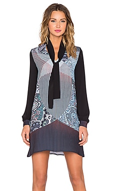 Clover Canyon Kaleidoscope Paisley Dress in Multi