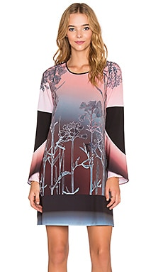 Clover Canyon Ombre Sunrise Dress in Multi