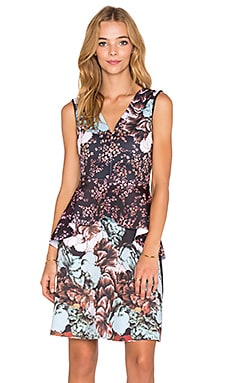 Clover Canyon Floral Sunset Dress in Multi