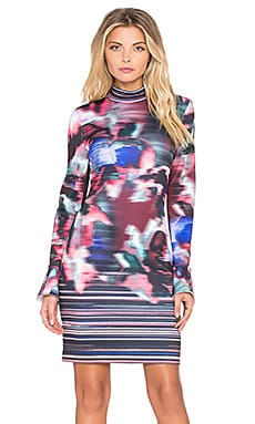 Clover Canyon Floral Ikat Dress in Multi