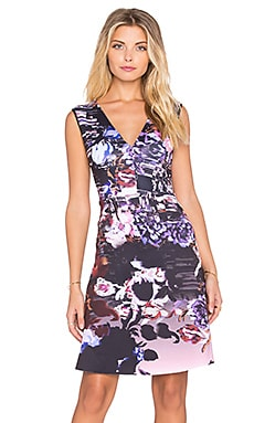 Clover Canyon Poetic Petals Dress in Multi
