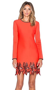 Clover Canyon Long Sleeve Dress in Red