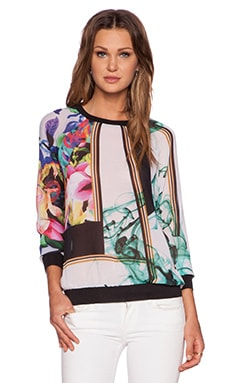 Clover Canyon Liquid Jade Sweatshirt in Multi