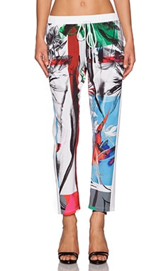 Clover Canyon Abstract Garden Pant in Multi