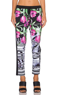 Clover Canyon Dancing Tulips Pant in Multi