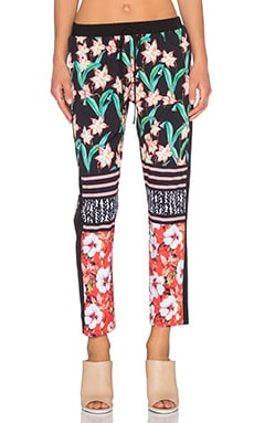 Clover Canyon Floral Sunrise Pant in Multi