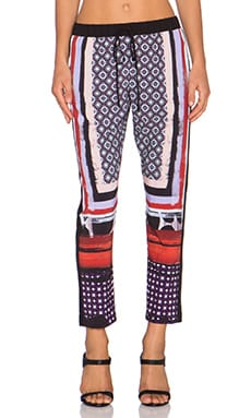 Clover Canyon Native Scarf Pant in Multi