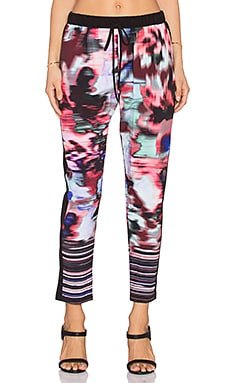 Clover Canyon Floral Ikat Pant in Multi