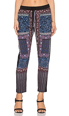 Clover Canyon Patchwork Paisley Pant in Multi