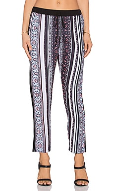 Clover Canyon Striped Tapestry Pant in Multi